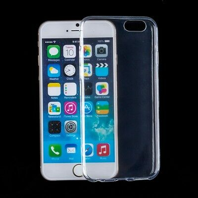 10x Soft TPU Transparent Gel Clear Thin Protective Cover Case for iPhone 6S