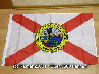 Fahnen Flagge Florida US Staat - 60 x 90 cm