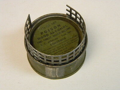 Us Gi Wwii Fuel Tablet Ration Heating