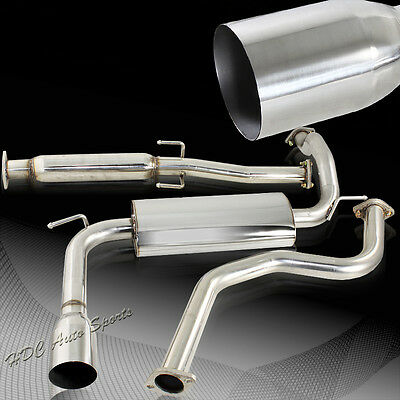 """For Acura Integra RS LS GS 2DR Coupe 4"""" Tip Stainless Catback Exhaust Muffler"""