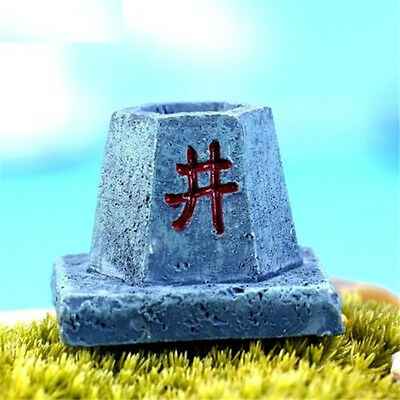 FD2849 Cute Spirit Miniature Dollhouse Ornament Flower Pot Aquarium Craft 1pc ♫