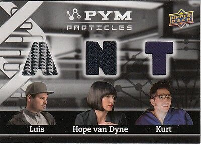2015 Ant-Man Movie - Pym Particles Pt3-Lhk Luis Hope Kurt Triple Memorabilia