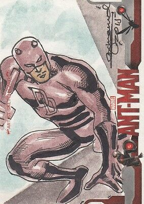 2015 Ant-Man Movie - Unknown Artist Sketch Card