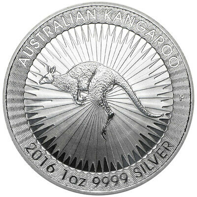 2016-P $1 Silver Australian Kangaroo 1 oz Brilliant Uncirculated