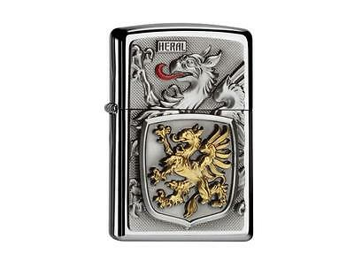 """ZIPPO LIMITED """"HERAL CONRADO"""" LIGHTER - CHROME POLISHED / 2004546 * NEW in BOX *"""