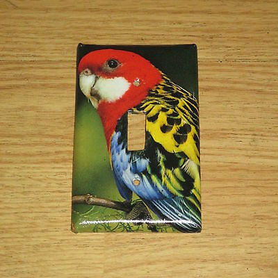 Parakeet Wild Bird Light Switch Cover Plate