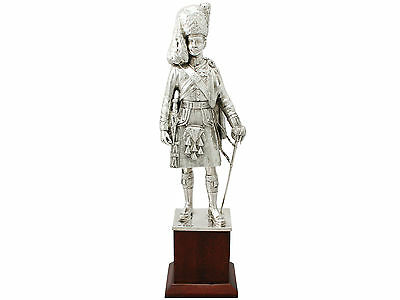 Sterling Silver 'Highlander' Table Ornament by Elkington & Co - Antique