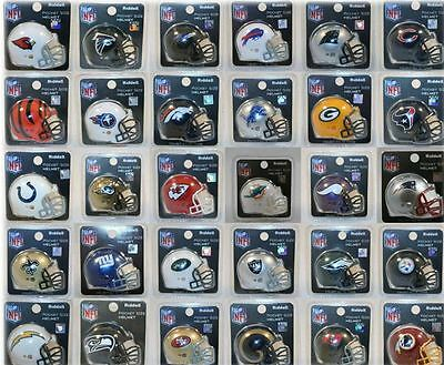Nfl American Football Riddell Pocket Pro Revolution Helmet Pk 32 To Choose From