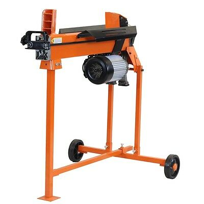 6 Ton Heavy Duty Electric Log Splitter Hydraulic Wood Cutter With Stand Duoblade