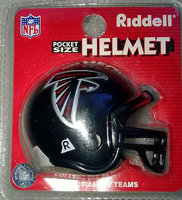 NFL Riddell American Football Pocket Traditional Helmet ATLANTA FALCONS