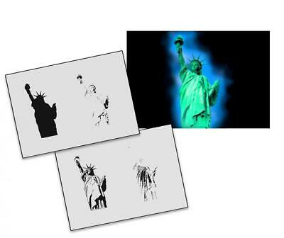 Step by Step Stencil AS-134 statue of liberty ~ UMR Airbrush Stencil