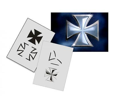 Step by Step Stencil AS-026 cross ~ UMR Airbrush Stencil