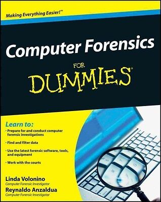 Computer Forensics For Dummies 9780470371916 by Linda Volonino, Paperback, NEW