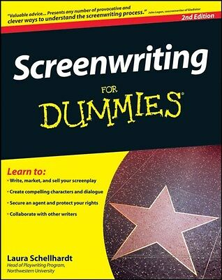 Screenwriting For Dummies 9780470345405 by Laura Schellhardt, Paperback, NEW
