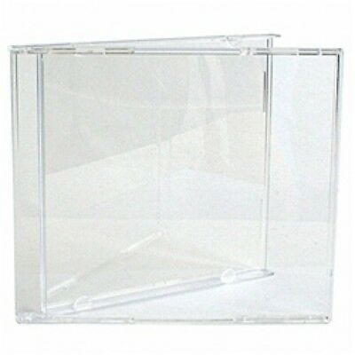 100 STANDARD CD Jewel Case (Carton Only, NO Trays)
