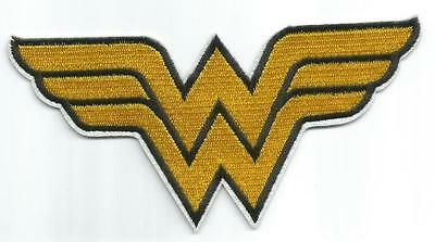 Wonder Woman Logo [ Large ] Character Patch - Sew-on / Iron-on Patch