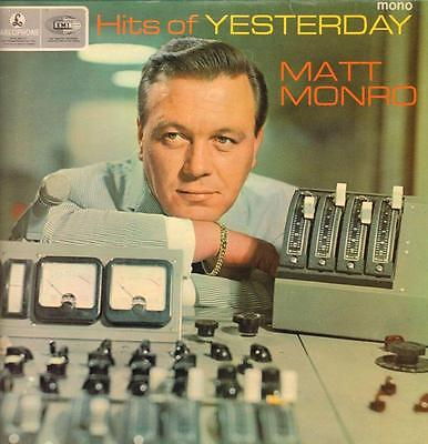 Matt Monro(Vinyl LP)Hits Of Yesterday-Parlophone-PMC 1265-UK-1965-VG/VG