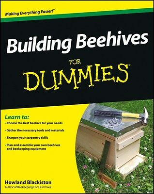 Building Beehives For Dummies 9781118312940 by Howland Blackiston, Paperback