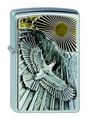 "ZIPPO ""EAGLE & SUN"" LIGHTER / 2003192 ** NEW in BOX **"