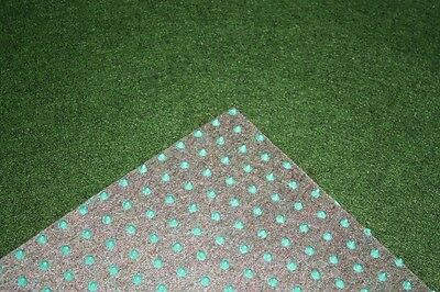 Grass carpet Artificial turf Basic green 400x300 cm