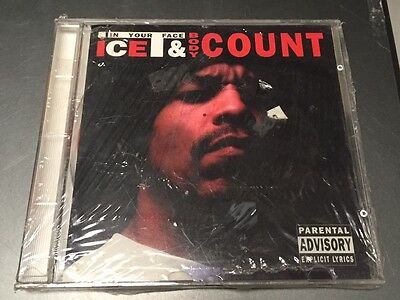 ICE T & BODY COUNT - IN YOUR FACE  - CD LIVE NO CDr - NYC 1992 - MINT SEALED