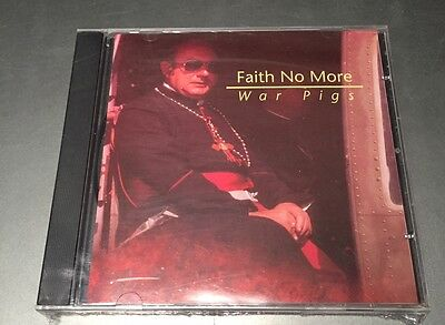 FAITH NO MORE - WAR PIGS   - CD LIVE NO CDr - NYC 1992 - MINT SEALED