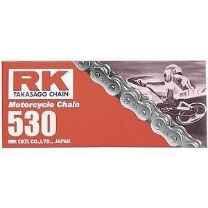 RK Chains 530M Natural Standard Chain 116 Links   M530-116