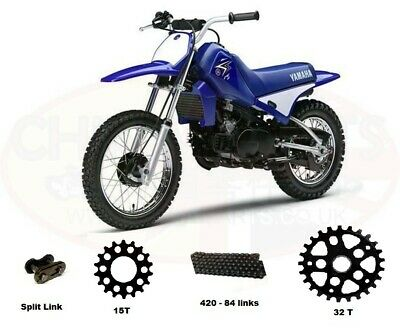 Chain and Sprocket Kit for Kids Yamaha PW80 91-11
