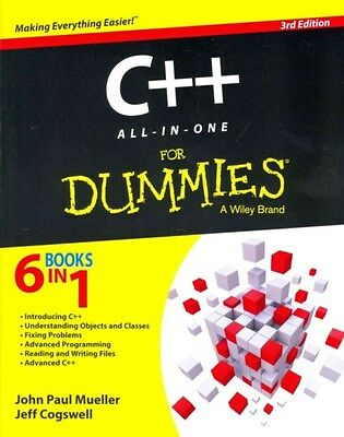 C++ All-in-one For Dummies 9781118823781 by John Paul Mueller, Paperback, NEW