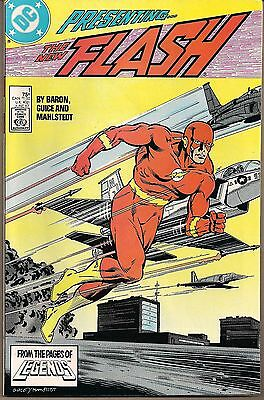 Flash The New #1 Dc 06/87 Wally West Begins Teen Titans Appear Baron/guice Nm-