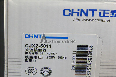 CJX2-5011 CHINT AC contactor 220V 50HZ