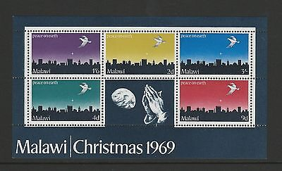 Malawi 1969 Christmas mini sheet SG MS344 MNH