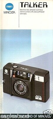 Camera Brochure - Minolta - Talker  (CB106)