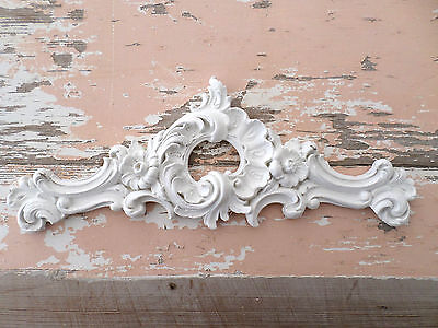SHABBY n CHIC ARCHITECTURAL FURNITURE APPLIQUES ONLAYS MOLDINGS