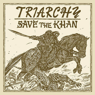 "TRIARCHY - Save the Khan  LP+7""  ULTRA CLEAR VINYL  NWOBHM"