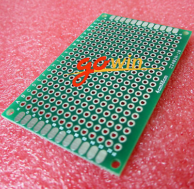 5PCS Double Side Prototype PCB Tinned Universal Breadboard 4x6 cm 40mmx60mm FR4