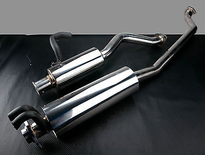 Brand New Honda Civic Type R Ep3 Stainless Catback Exhaust System 2000-2007