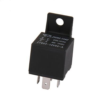 Car Truck Automotive Relay 40A 12VDC SPST Relays Plug 4 Pin 4P
