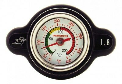 OUTLAW RACING HIGH PRESSURE RADIATOR CAP WITH TEMP GAUGE for the SUZUKI HAYABUSA