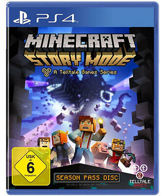 Sony PS4 Playstation 4 Spiel ***** Minecraft: Story Mode ****************NEU*NEW