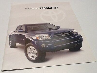 2007 Toyota Tacoma X-Runner Limited Brochure