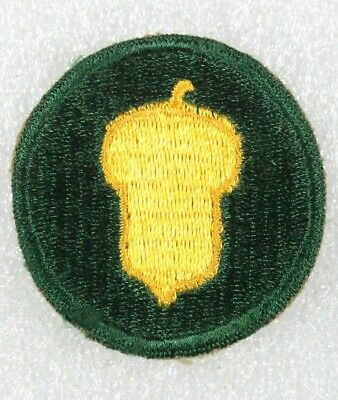 Army Patch: 87th Infantry Division, cut edge, dark green