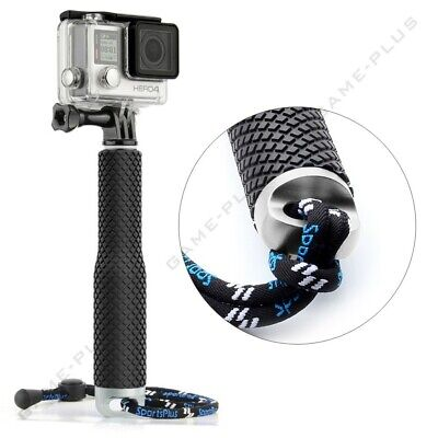 For GoPro Hero 5 4 3 Mini Selfie Stick Waterproof Monopod Extendable Pole Silver