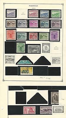 Pakistan 1947 to 1967 Collection on Scott International pages