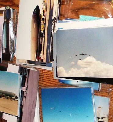 KC-135 E-3 Boeing Airplanes Photo's 5x7 Lot of 300
