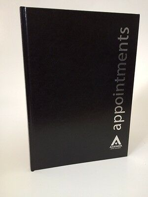 Agenda Black 6 Column Appointment Book - Spas, Salons, Health Clubs etc ...