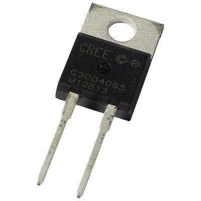 Cree C3D04065A SiC-Diode 6A 600V Silicon Carbide Schottky Diode TO220AC 855424