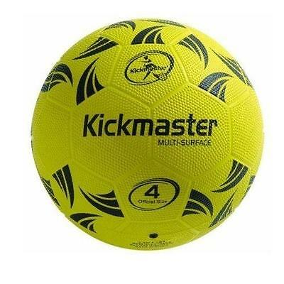 Kickmaster Multi-Surface Football Training Ball Size 4  All Surfaces New