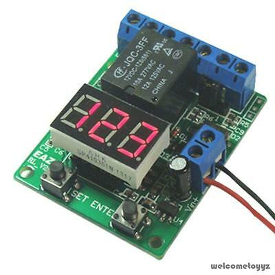 6 FUNCTIONS VOLTMETER TIMER COUNTER VOLTAGE RELAY CONTROLLER power DC10~15V