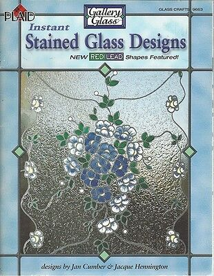 GALLERY GLASS Instant Stained Glass Designs by Jan Cumber and Jacque Hennington